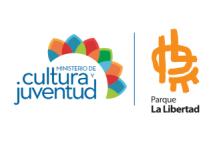 Logo del Parque La Libertad junto al del Ministerio de Cultura y Juventud
