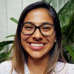 Retrato de Karolina Jiménez sonriendo